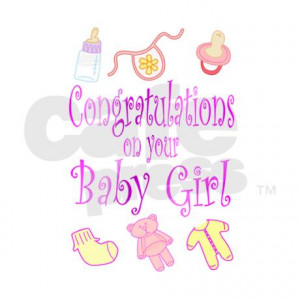Congratulations On Baby Girl Quotes