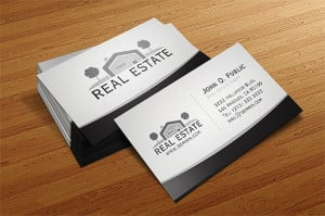 15 Cool Real Estate Agent Business Cards 3