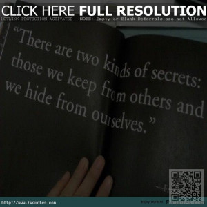 Tags Lifequotes Secrets Ourselves Englishquotes Realquotes Hide ...