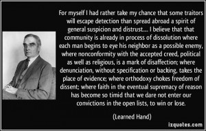 More Learned Hand Quotes