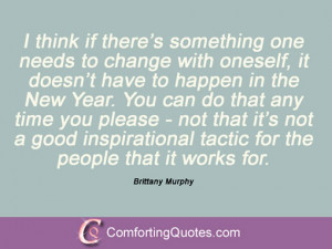 13 Quotations From Brittany Murphy
