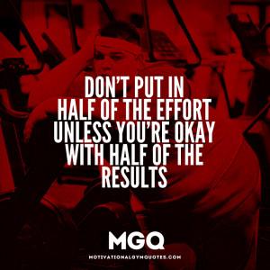 Motivational Quotes Effort