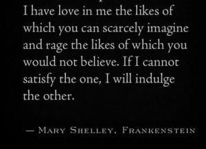Frankenstein quote