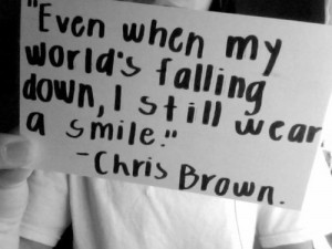 chrisbrown #quote #smile #:) #breezy #TeamBreezy