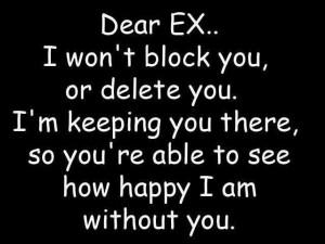Dear EX QUOTES