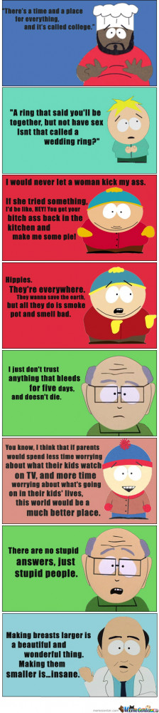 Just Some South Park Quotes...