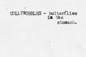 Butterflies In Stomach Quotes
