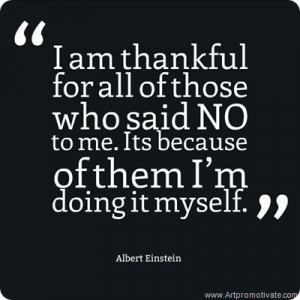 Positive Attitude Quotes For Work Albert einstein quote