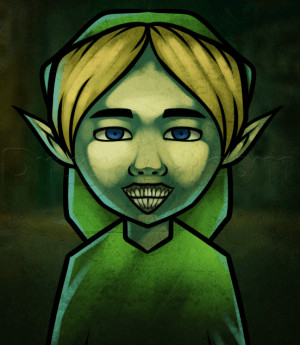 How Draw Ben Drowned