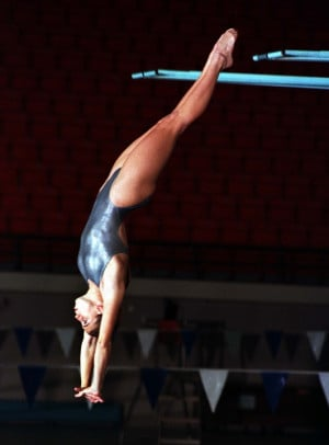 ... Laura Wilkinson, Springboard Diving, Athens 2004, Wilkinson Usa
