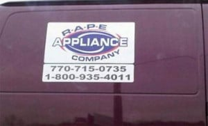 Sexually Suggestive Business Names (20 pics)