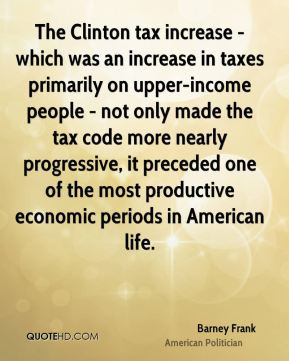in taxes primarily on upper-income people - not only made the tax code ...