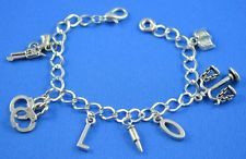 Criminal justice charm bracelet More
