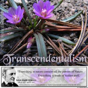 Transcendentalism - Emerson