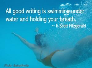 writing underwater