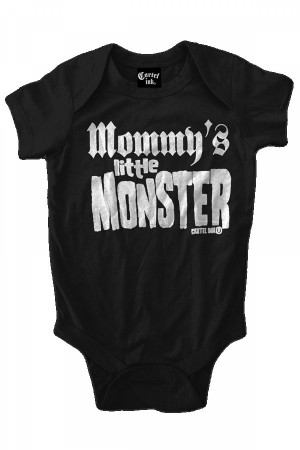 Mommy's Little Monster Infant One Piece w/Snaps
