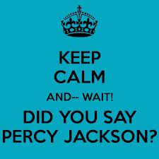 ... calm and Percy on :) - percy-jackson-and-the-olympians-books Photo