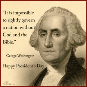 George Washington (The founding fathers' basis for governing this ...