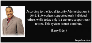 Social Security Administration Quotes