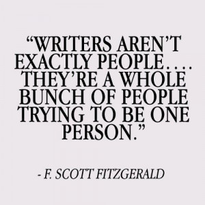Best writing quote ever.