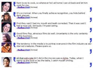Madhuri Dixit Quotes