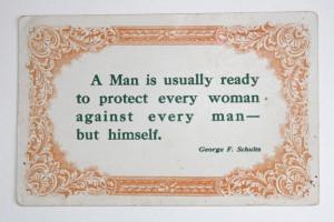 Unique Vintage Postcard- Wisdom Quote by George F Schultz-. $3.50, via ...