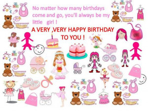 Birthday wishes for daughter 7