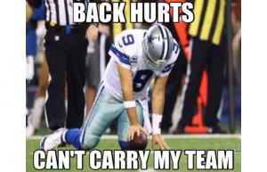 Back Hurts Can't Carry My Team