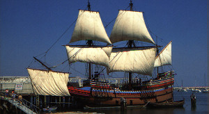 The Mayflower Was A Tiny Vessel