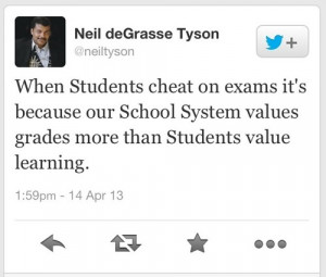 When Students Cheat On Exams It's Because Our School System Values ...