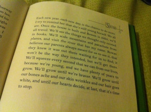 Love this quote from Sever by Lauren DeStefano in the Chemical Garden ...