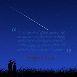 Shooting Star Quotes Quotes picture: it's not the