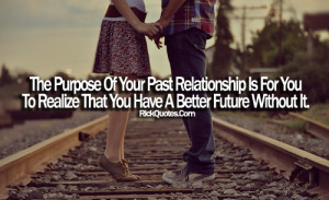 Relationship Quotes | A Better Future Without It girl boy Railway ...
