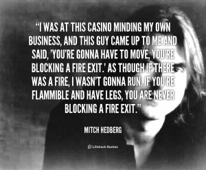 17 Mitch Hedberg Quotes To Get You Through The Week