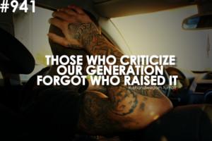 kushandwizdom quote quotes criticize generation youths young ...