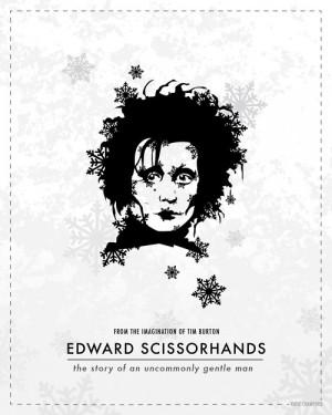 Edward Scissorhands – Tim Burton.