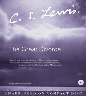 ... is from the great divorce paperback the great divorce by cs lewis