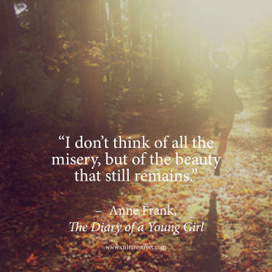 Anne Frank Quotes About The Holocaust Anne-frank-diary. confidence