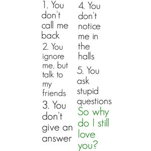 Cute quote why do i still love you, by HannaH USE!