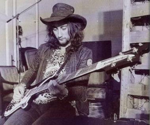 Roger Glover, bassist, and designer bags of the group.