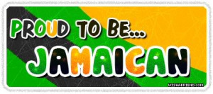 Nationalities Graphic - Proud To Be Jamaican