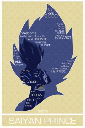 Vegeta Poster [OC] ( fc05.deviantart.net )