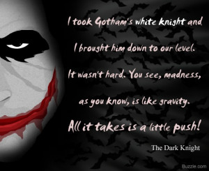 best joker quotes dark knight