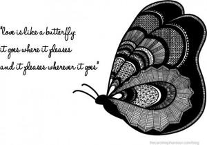 Butterfly love from Caroline Johansson