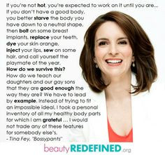 ... tina fey quotes transformation tuesday quotes beauty redefined tina