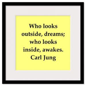 ... > Wall Art > Framed Prints > Carl Jung quotes Wall Art Framed Print