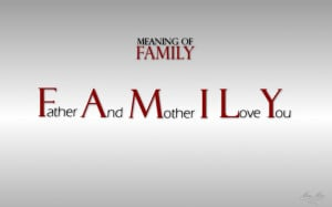 Family Meaning Quotes Wallpaper HD