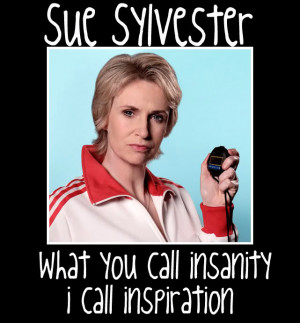 Glee Sue Sylvester