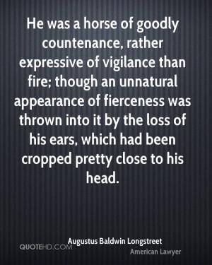Augustus Baldwin Longstreet Quotes