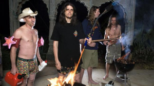 US band Tool. L-R: Maynard James Keenan, Adam Jones, Danny Carey ...